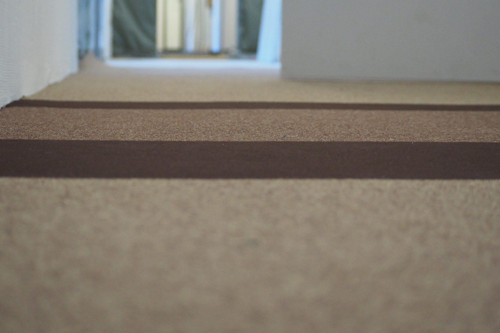 Abwechslungsreich – optische Strukturierung in einem Bürogebäude mit Nadelfilz